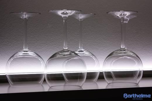 LED csík, hidegfehér, 16,8 cm/12 LED, 24 V/DC, LEDlight flex 14, Barthelme 50017426