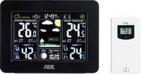 Vezeték nélküli időjárásjelző állomás, fekete, ADE WS 1503 ADE