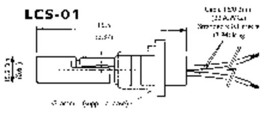 Úszókapcsoló 250 V/AC, 100 V/DC 1 A 1 záró, 1 nyitó TE Connectivity Sensor LCS 01 IP65 1 db