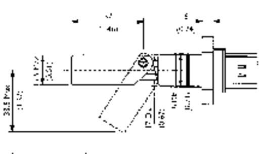 Úszókapcsoló 24 V/DC 1 A 1 záró/1 nyitó, TE Connectivity Sensor LCS-02 IP65