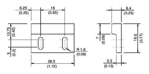 Reed kapcsoló PM102 mágnes PS2011/PS2021-hez