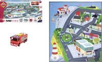Dickie Toys - Tűzoltó Sam játszószőnyeg, álló, 70 x 80 cm (203096003) Dickie Toys