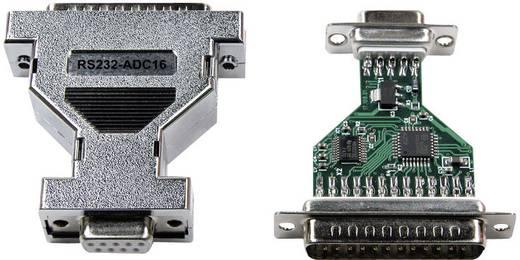 Analóg-digitális átalakító, RS232, ház típus: DSUB ház, 9/25 pólusú , kivitel: RS232/DSUB, Taskit RS232-ADC16