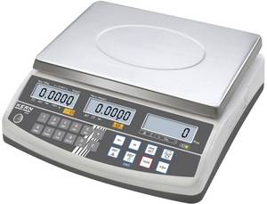Kern Darabszámláló mérleg Mérési tartomány (max.) 3 kg Leolvashatóság 0.01 g Hálózati adapterről üzemeltetett Többszín Kern