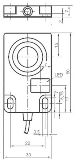 Induktív közelítés érzékelő, kapcsolási távolság: 10 mm, Pepperl & Fuchs NCB10-F17-E2