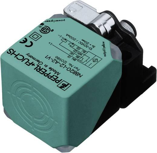 Induktív közelítés érzékelő, kapcsolási távolság: 20 mm, Pepperl & Fuchs NBB20-L2-A2-V1