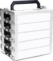Szerszámos láda tartalom nélkül Sortimo i-BOXX Rack 600.001.0103 ABS (H x Sz x Ma) 442 x 342 x 475 mm Sortimo