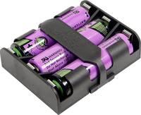 Elemtartó bébi elemhez 6 x C, forrasztható, 60 x 48 x 17 mm, MPD BK-1280-PC6 (BK-1280-PC6) MPD