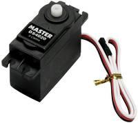Master Standard szervó DS4020 Digitális szervó Hajtómű anyag: Műanyag Dugaszoló rendszer: univerzális (Graupner / JR / Master