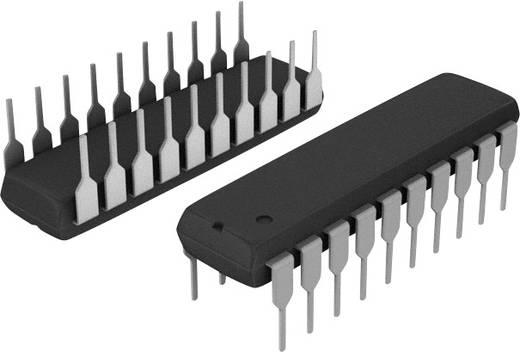 CMOS IC, DIP-20, oktális busz puffer, invertáló, tri-state kimenetekkel, Texas Instruments SN74HC240N