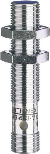 Induktív közelítés kapcsoló (-érzékelő) M12, kapcsolási távolság: 2 mm, Contrinex DW-AS-603-M12
