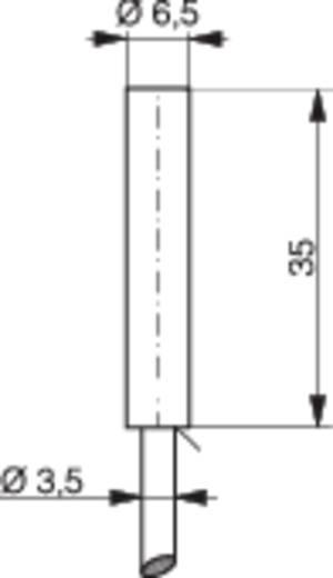Induktív közelítés kapcsoló (-érzékelő) Ø 6,5 mm, kapcsolási távolság: 2 mm, Contrinex DW-AD-623-065