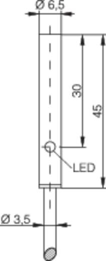 Induktív közelítés kapcsoló (-érzékelő) Ø 6,5 mm, kapcsolási távolság: 3 mm, Contrinex DW-AD-503-065