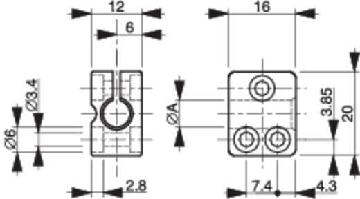 Szenzor tartó, Contrinex ASU-0001-120