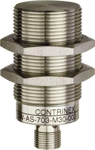 Induktív közelítés érzékelő (fém) M30, kapcsolási távolság: 20 mm, Contrinex DW-AS-703-M30-002
