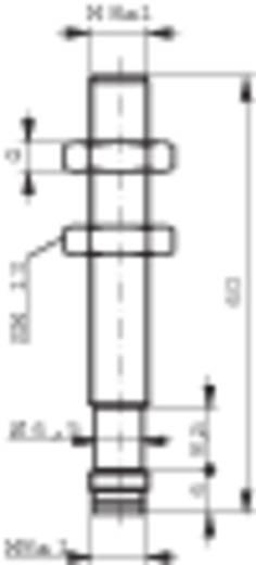 Induktív közelítés kapcsoló analóg kimenettel, M8, kapcsolási távolság: 0-4 mm, 0-10 V, Contrinex DW-AS-509-M8-390