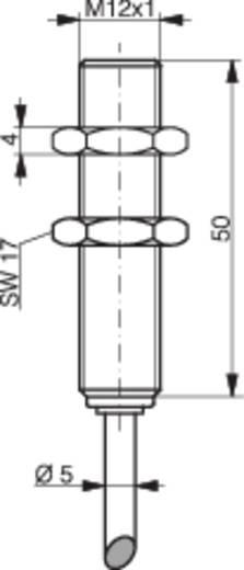 Induktív közelítés kapcsoló analóg kimenettel, M12, kapcsolási távolság: 0-6 mm, 0-10 V, Contrinex DW-AD-509-M12-390