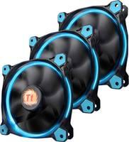 Számítógépház ventilátor Thermaltake 3 db RIING LED (Sz x Ma x Mé) 120 x 120 x 25 mm (CL-F055-PL12BU-A) Thermaltake