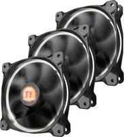 Számítógépház ventilátor Thermaltake 3 db RIING LED (Sz x Ma x Mé) 120 x 120 x 25 mm (CL-F055-PL12WT-A) Thermaltake