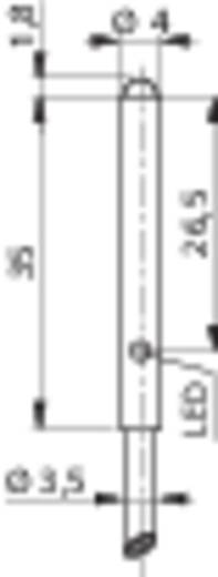 Miniatűr reflexiós fénydetektor hatótáv 20mm Contrinex LTK-1040-303-506