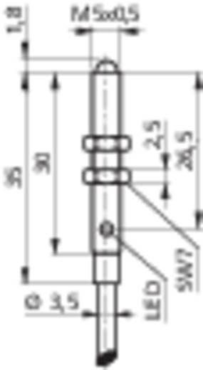 Miniatűr reflexiós fénydetektor hatótáv 10mm Contrinex LTK-1050-303-505