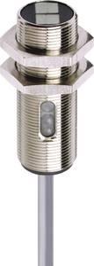 Fénysorompó, reflexiós fénydetektor hatótáv 2000mm M18 menettel Contrinex LRK-1180-304 Contrinex