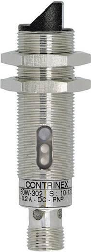 Fénysorompó, reflexiós fénydetektor hatótáv 2000mm M18 menettel Contrinex LRS-1180W-304