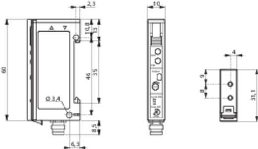 Optikai kábel erősítő DIN-sínes szereléshez, Contrinex LFS-3060-103