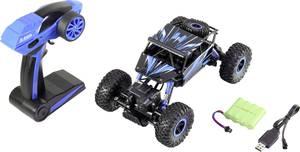 Basetech Rock Crawler 1:18 RC kezdő modellautó Elektro Crawler 4WD Basetech