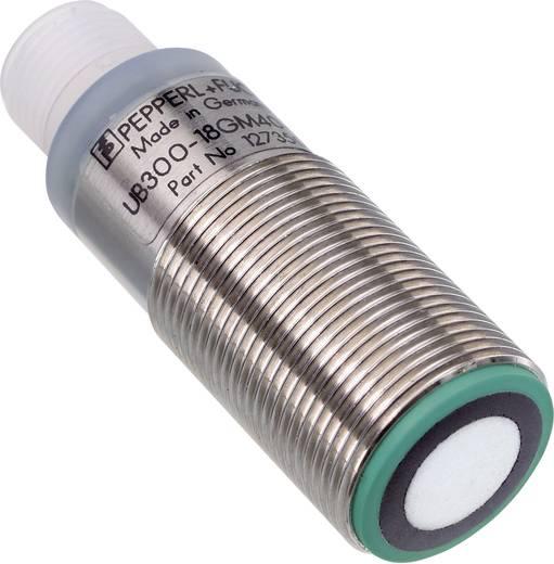 Ultrahang érzékelő M18, hatótáv: 30 - 300 mm, Pepperl & Fuchs UB300-18GM40-E5-V1