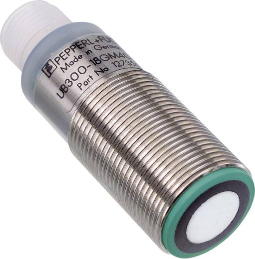 Ultrahang érzékelő M18, hatótáv: 50 - 800 mm, Pepperl & Fuchs UB800-18GM40-I-V1