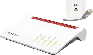 AVM FRITZ!Box 7590 WLAN router modemmel Beépített modem: VDSL, ADSL 2.4 GHz, 5 GHz 2.533 MB/s AVM