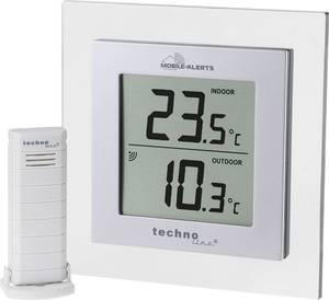 Vezeték nélküli külső-belső hőmérő, smart funkcióval Android és iOS alkalmazásokhoz Techno Line APP MA 10450 Techno Line