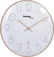 Techno Line WT 8235 gold optik Rádiójel vezérlésű Falióra 350 mm x 25 mm Rozé arany Techno Line