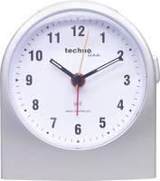 Rádiójel vezérelt analóg ébresztőóra, ezüst, Techno Line WT 753 Techno Line