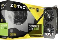 Grafikus kártya Zotac Nvidia GeForce GTX1060 AMP! Edition 3 GB GDDR5-RAM PCIe x16 HDMI™, DVI, Kijelző csatlakozó (ZT-P10610E-10M) Zotac