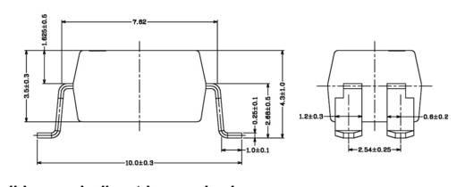 SMD optocsatoló, Everlight EL817-S-C7TA SMD