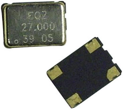 SMD kvarc oszcillátor 40 MHz , méret: (H x Sz x Ma) 7 x 5 x 1,7 mm, EuroQuartz 40,000MHZ XO91050UITA