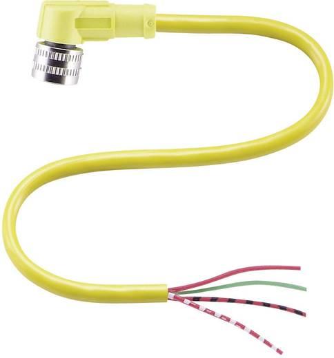 Kábelcsatlakozó doboz 4 pólusú, GA18/GLK18 fénysorompóhoz Pepperl & Fuchs V124-W-YE2M-PVC, 2 m csatlakozó vezetékkel