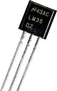 Hőmérsékletszenzor, relatív légnedvesség mérőérzékelőhöz LM 35 DZ B + B Thermo-Technik