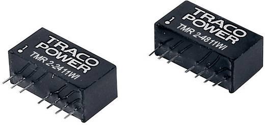 DC/DC átalakító, TMR 2WI, 2 Watt, bemenet: 9 - 36 V/DC, kimenet: 12 V/DC 165 mA 2 W, TracoPower TMR 2-2412WI