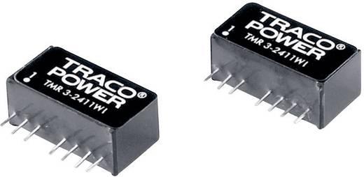 DC/DC átalakító, TMR 3WI sorozat, 3 Watt, bemenet: 18 - 75 V/DC, kimenet: ±5 V/DC ±300 mA 3 W, TracoPower TMR 3-4821WI