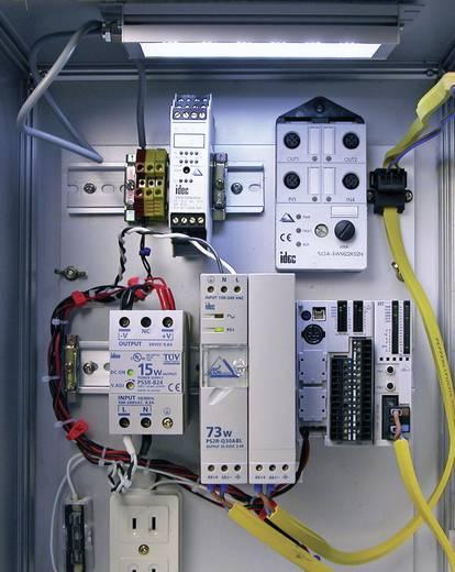 LED-es géplámpa 13,4 cm, 24 V/DC, fehér, LUMIFA Idec LF1B-NA4P-2THWW2-3M