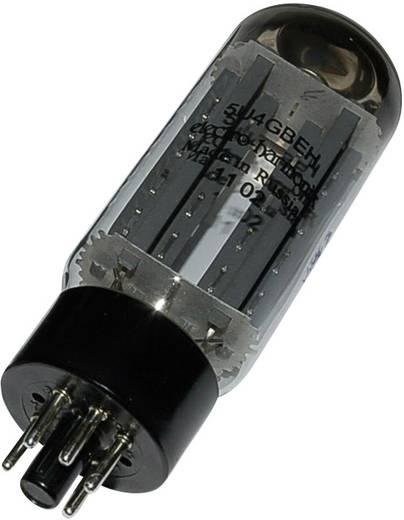 Elektroncső 5 U 4 GB, pólusszám 8, oktál foglalat, Kettős egyenirányító