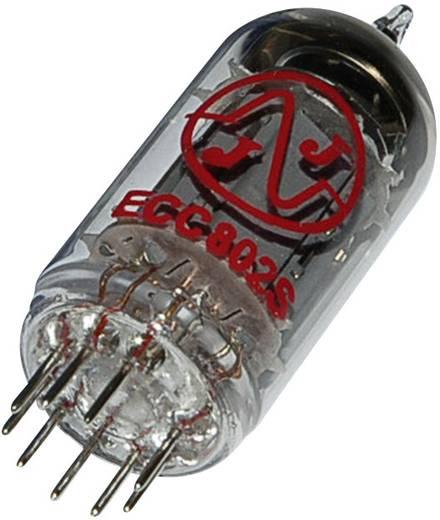 Elektroncső ECC 802 s = E 82 CC, pólusszám 9, novál foglalat, NF kettős trióda