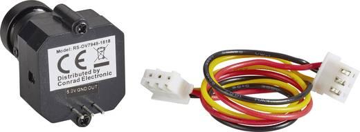 CMOS színes kameramodul 5 V/DC, 365496 Pixel (628 M x 582 V), RS-OV7949-1818