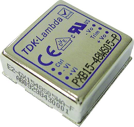 DC/DC átalakító, PXB15 sorozat, bemenet: 18 - 75 V/DC, kimenet: ±15 V 0,5 A 15 W, TDK-Lambda PXB15-48WD15