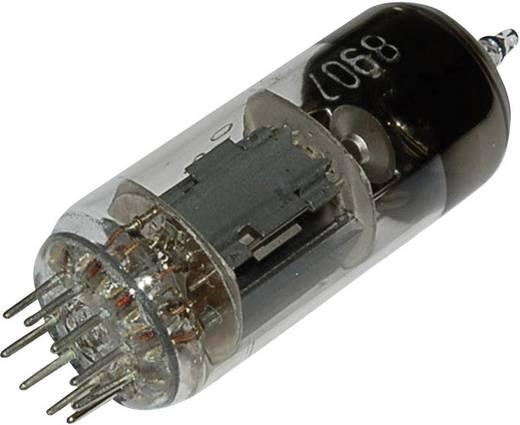 Elektroncső 6 N 6 P = 6 H 6 n, pólusszám 9, novál foglalat, Kettős trióda