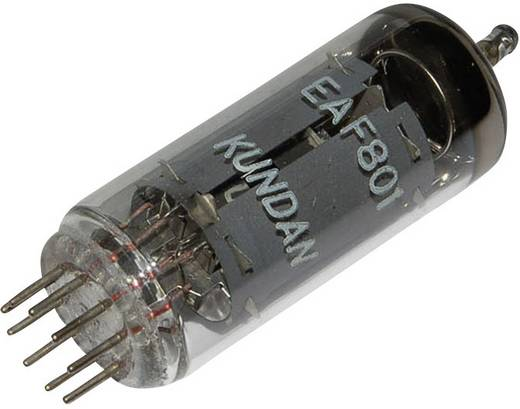 Elektroncső EAF 801, pólusszám 9, novál foglalat