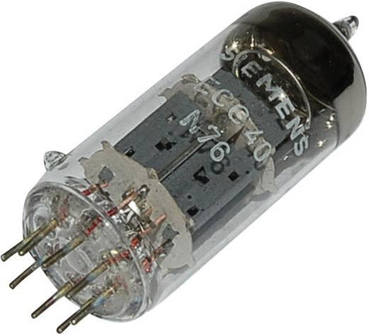 Elektroncső ECC 40, pólusszám 8, Rimlock foglalat, Kettős trióda